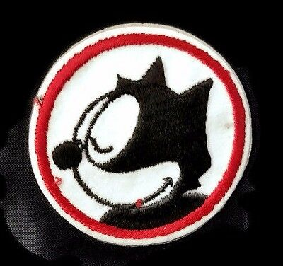 Vintage 60's Felix the Cat Felt Patch / Decal