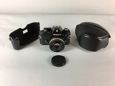 Nikon EM With Nikon Lens 50mm 1:1.8 Made in JAPAN - Excellent!