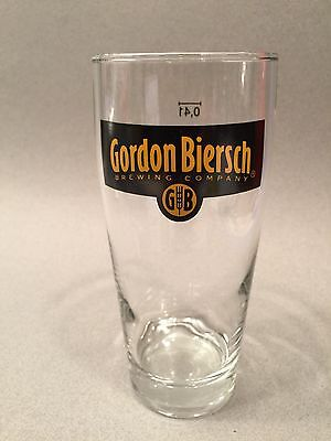 GORDON BIERSCH 0.41 Beer Pint Glass Cup New
