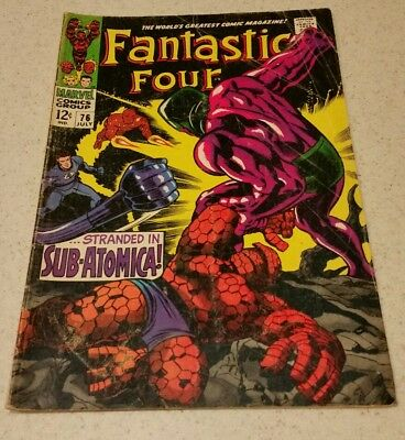 Fantastic Four #76 (Jul 1968, Marvel)