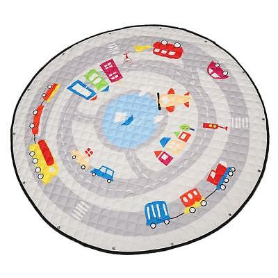 Cotton Round Baby Kid Activity Gym Playmat Play Mat Crawling Pad Toy Storage