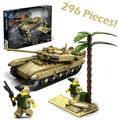 Lego Compatible Building Blocks Russian T90 Tank Brick Army Military Figure T-90