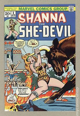 Shanna The She-Devil (1972 1st Series) #3 NM- 9.2