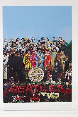 THE BEATLES : Sgt.Pepper's Lonely Hearts Club Band,  Kunst-Postkarte