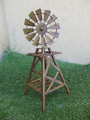 Heavy Duty Table Top Windmill wind spinner gift home decor