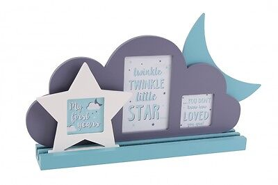 My First Years Sliding Stars, Moon & Cloud Frame great nursery/ new baby gift