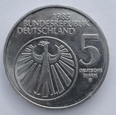 1985 German 5 Marks - Commemorative.