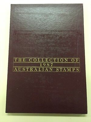 The Collection Of 1987 Australian Stamps - Album Only - NO STAMPS