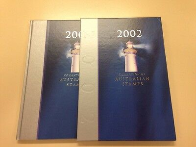 2002 Collection Of Australian Stamps- Album Only - NO STAMPS