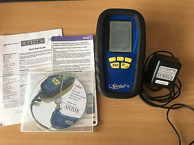 Anton Sprint V2 Flue Gas Analyser Telegan Calibration Required