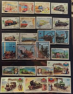 Train on Stamps Selection used L10