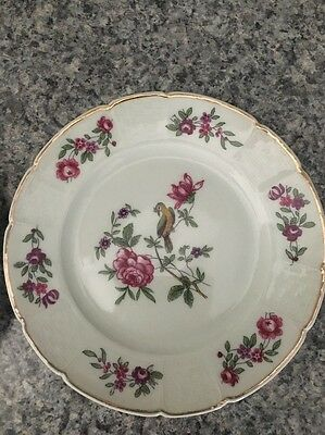 Lot Of 2 GDA Limoges Plates Made in France EUC