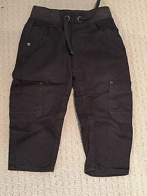 Ex Condition  Boys Pumpkin Patch Pants Cargos Size 1 Or 12-18 Months