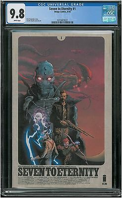 Seven to Eternity #1 (CGC 9.8 NM/MT) (Image 2016) Sold Out 1st Print! Remender