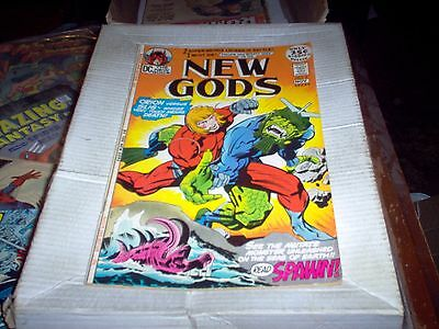 New Gods #5 With Orion Kirby Story & Art Slig Issue Dc 1971 Look Fn-