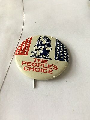vintage Hush Puppies dog pin