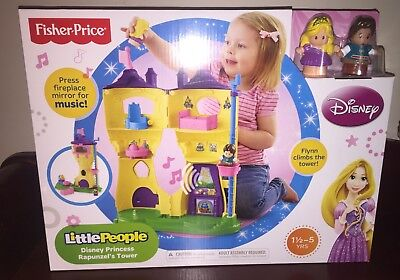 Fisher Price Little People Disney Princess Rapunzels Tower Playset Castle