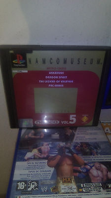 namco museum vol 5 per Playstation one
