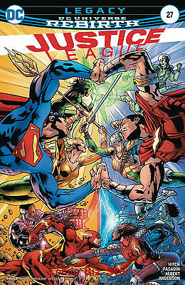 Justice League #27 (2017) 1St Printing Bagged & Boarded Dc Universe Rebirth