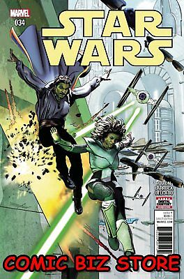 Star Wars #34 (2017) Marvel 1St Printing Bagged & Boarded