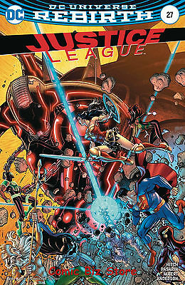 Justice League #27 (2017) 1St Printing Variant Cover Dc Universe Rebirth
