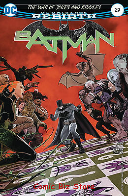 Batman #29 (2017) 1St Printing Dc Universe Rebirth Bagged & Boarded
