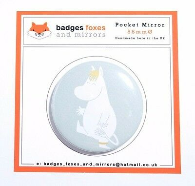 Moomin SNORKMAIDEN Compact POCKET MIRROR Birthday/Christmas/Stocking/Filler/Bag