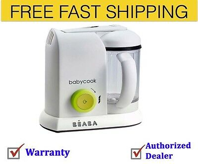 BEABA Babycook Neon Baby Food Maker Brand New with warranty Free Shipping
