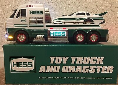 2016 Hess Toy Truck Dragster Hauler Brand New in Box - Ready To Ship! SOLD OUT!