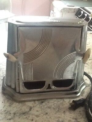 Antique Toaster, 1930s,  ART Deco, Working Son Chief 680