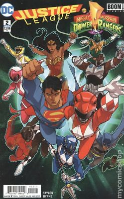 Justice League Power Rangers (2016) #2 NM