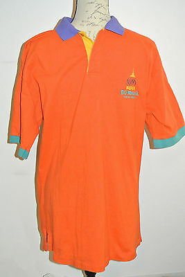 Trump Taj Mahal Men's Large Cotton Polo Shirt - Bright Colors!