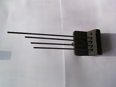 4 FORK CHIMES  FROM AN OLD  MANTLE CLOCK  ref 1