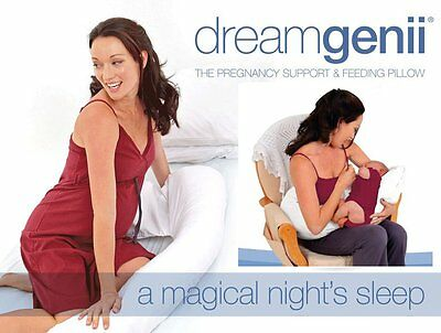 DreamGenii Ultra Soft Pregnancy/Maternity Support and Feeding Pillow - NEW!