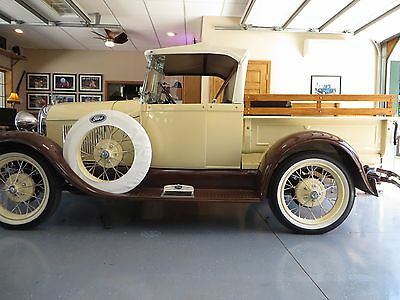 1929 Ford Model A -- 1929 Ford Model A Roadster