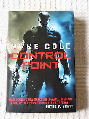 Control Point * Shadow Op * Myke Cole * New * 9780755393978
