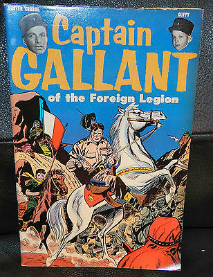 Captain Gallant of the Foreign Legion, 1955. Buster Crabbe Comic.