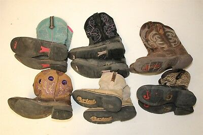 Ariat and Justin Lot Cowboy USED REHAB Boots Ladies Cowgirl Wholesale bPQQ