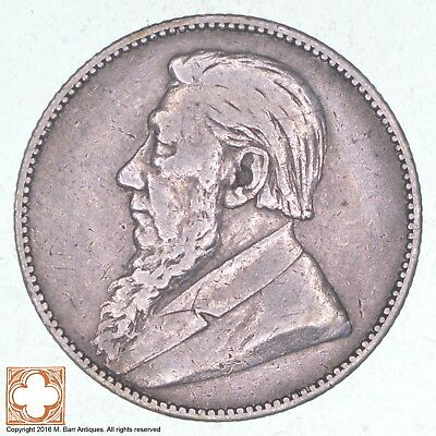 1897 South Africa 1 Skilling *0852