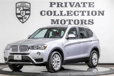 2016 BMW X3 sDrive28i Sport Utility 4-Door 2016 BMW X3 1 Owner Clean Carfax Low Miles Pristine Great Options