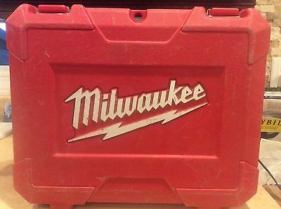 Milwaukee M12 Drill Impact Driver Kit Case Only In Good Condition