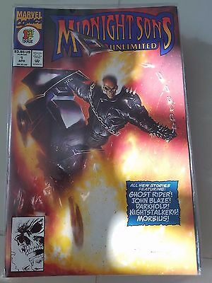 Midnight Sons Unlimited Lot Of 6 Giant-Size Issues (1993) Marvel Comics