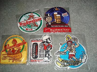 Lot of  5 beer patches