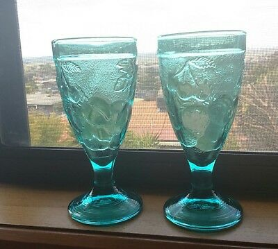 A Pair Of French Wine/goblet Glasses