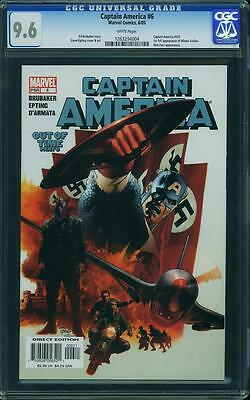 Captain America #6 (CGC 9.6 NM+) (Marvel 2005) 1st Appearance Winter Soldier!