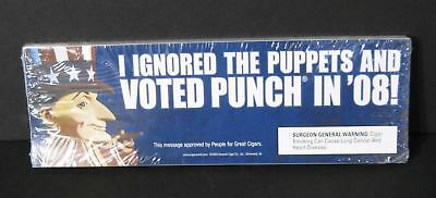 I Ignored The Puppets And Voted Punch in '08 Bumper Stickers Pack of 50
