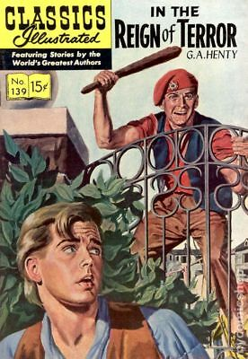 Classics Illustrated 139 In the Reign of Terror (1957) #1 GD/VG 3.0 LOW GRADE