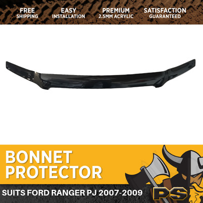 Bonnet Protector For Ford Ranger 2007-2009 PJ Tinted Guard