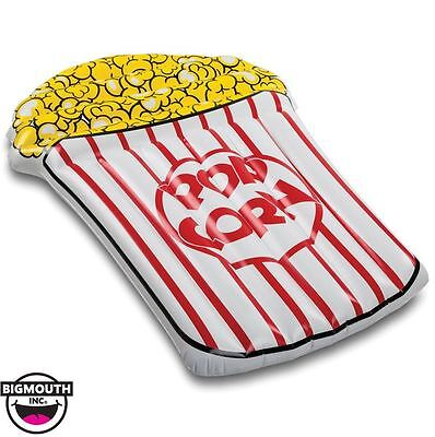 New Bigmouth Inc Buttery Popcorn Gigantic Pool Float 5Ft Inflatable Durable Viny