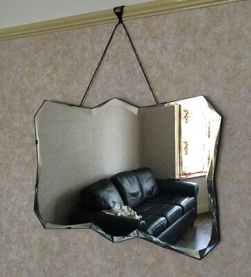 Antique Mirror with Bevelled Edge - 3 of 3 listed